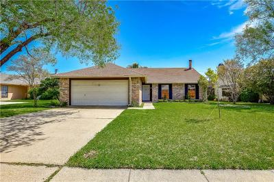 Mesquite Single Family Home For Sale: 2816 Tedlow Trail