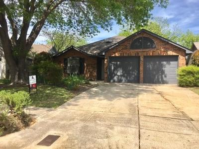 Fort Worth Single Family Home Active Option Contract: 1354 Gainsborough Way