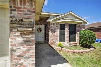 Fort Worth Single Family Home Active Option Contract: 6829 Prairie Hill Road