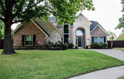 Flower Mound Single Family Home Active Option Contract: 2704 Lake Ville Lane