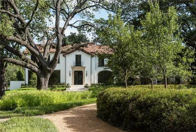 University Park, Highland Park Single Family Home For Sale: 4444 N Versailles Avenue