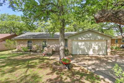 Azle Single Family Home Active Option Contract: 108 Lilac Lane