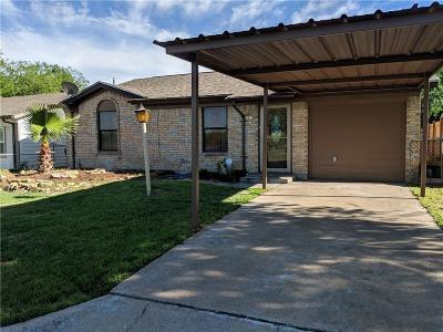 Grand Prairie Single Family Home For Sale: 1805 Lakeview Drive