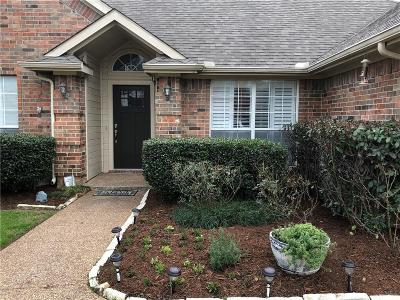 Grapevine Single Family Home Active Option Contract: 525 Coventry Drive