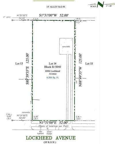 Dallas County Residential Lots & Land For Sale: 6806 Lockheed Avenue