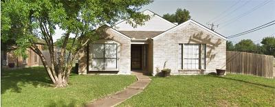 Mesquite Single Family Home Active Option Contract: 1223 Thistle Drive