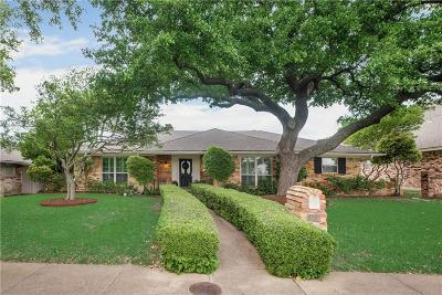 Lake Highlands Single Family Home Active Contingent: 9217 Briarhurst Drive