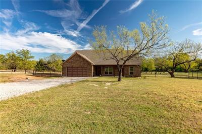Springtown Single Family Home Active Option Contract: 499 Faye Lane