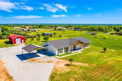 Archer County, Baylor County, Clay County, Jack County, Throckmorton County, Wichita County, Wise County Single Family Home For Sale: 184 County Road 3383