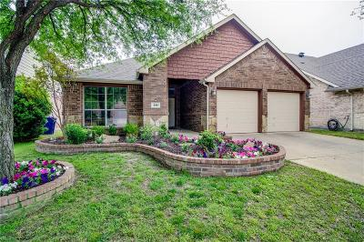 Little Elm Single Family Home For Sale: 516 Lake Point Drive