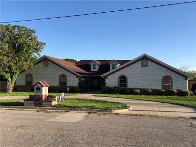 Archer County, Baylor County, Clay County, Jack County, Throckmorton County, Wichita County, Wise County Single Family Home Active Option Contract: 1530 W College Street