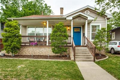 Tarrant County Single Family Home For Sale: 1812 Belle Place