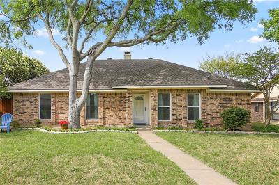 Richardson Single Family Home Active Option Contract: 1505 Barclay Drive