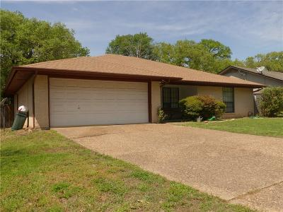 Azle Single Family Home For Sale: 309 Shady Lane