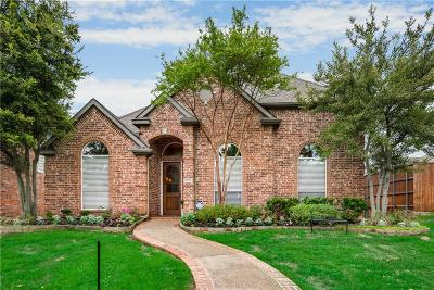 Plano Single Family Home Active Option Contract: 6720 Waterway Court