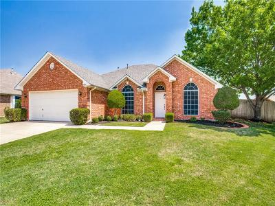North Richland Hills Single Family Home Active Option Contract: 6104 Shady Cove Court