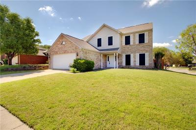 Fort Worth Single Family Home For Sale: 8500 Mystic Trail