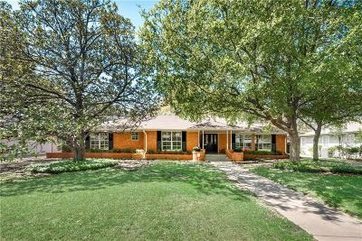 Dallas Single Family Home For Sale: 11335 Crest Brook Drive