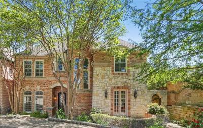 Dallas TX Single Family Home For Sale: $1,290,000