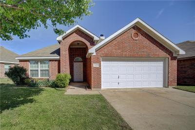 Fort Worth Single Family Home Active Option Contract: 1125 Manhassett Court