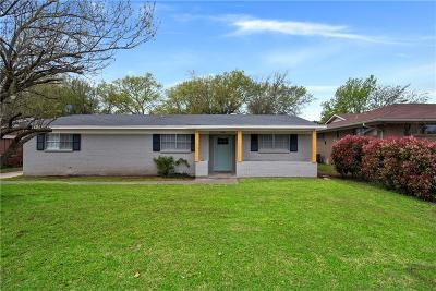 Sherman Single Family Home For Sale: 2504 N Alexander Street