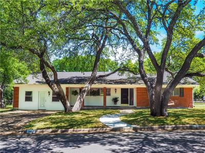 Brownwood Single Family Home Active Option Contract: 706 Oakpark Drive