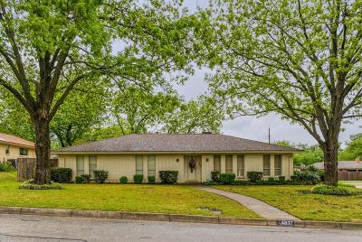 Fort Worth Single Family Home For Sale: 4817 Wheelock Drive