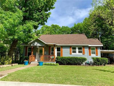 Waxahachie Single Family Home For Sale: 218 Kirven Avenue
