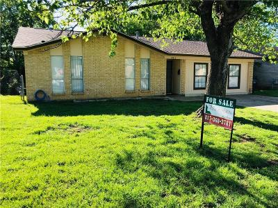 Fort Worth Single Family Home For Sale: 4912 Eastover Avenue