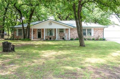 Azle Single Family Home Active Kick Out: 13959 Briarwood Road