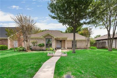 Lewisville Single Family Home Active Option Contract: 1654 Crosshaven Drive
