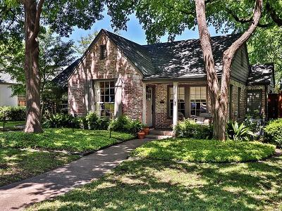 Dallas Single Family Home For Sale: 506 Newell Avenue