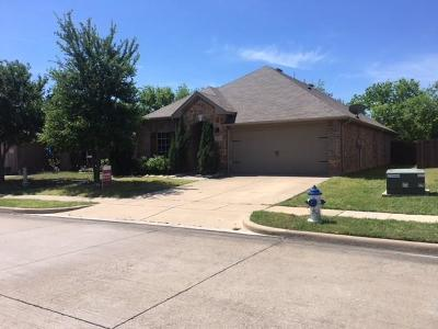 Burleson Single Family Home Active Option Contract: 1347 Hillside Drive