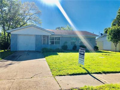 Mesquite Single Family Home For Sale: 1222 Eastern Heights Drive