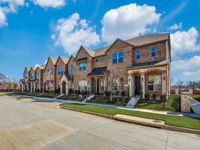 Frisco Townhouse For Sale: 6234 Rainbow Valley Place