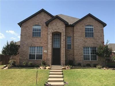 Van Alstyne Single Family Home For Sale: 328 Williamsburg Drive