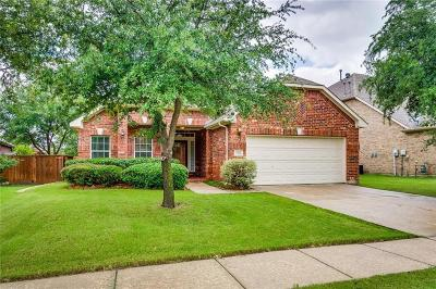 Frisco Single Family Home Active Option Contract: 8255 Robertson Drive
