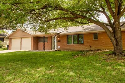 Fort Worth Single Family Home For Sale: 5709 Walla Avenue