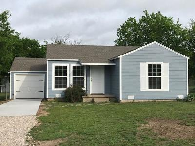 Aledo Single Family Home Active Option Contract: 217 Pine Street