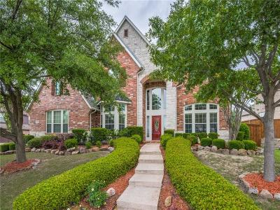 Prosper Single Family Home For Sale: 640 Rock Hill Road
