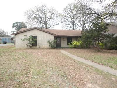 Denison Single Family Home For Sale: 2806 W Day Street