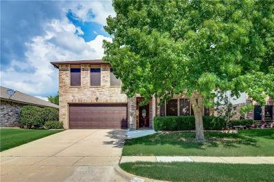 Little Elm Single Family Home For Sale: 2612 Red Oak Drive