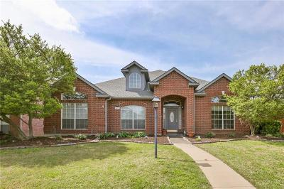 Plano Single Family Home Active Option Contract: 1412 Burlington Drive