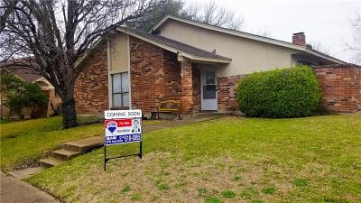 Garland Single Family Home For Sale: 5025 Willowhaven Circle