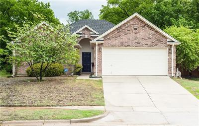 Denton Single Family Home For Sale: 3721 Monte Carlo Lane