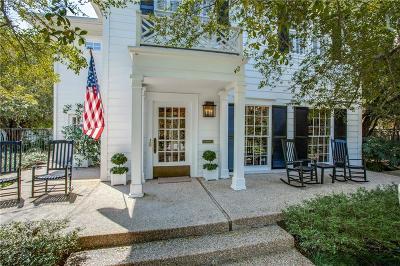 Highland Park, University Park Single Family Home For Sale: 3503 Crescent Avenue