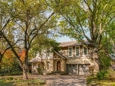 Highland Park, University Park Single Family Home For Sale: 6301 Westchester Drive