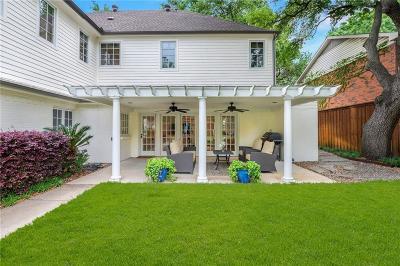 Dallas County Single Family Home For Sale: 5858 Colhurst Street
