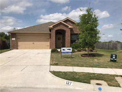 Azle Single Family Home For Sale: 127 Creekview Drive