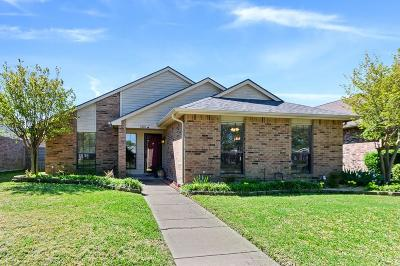 Garland Single Family Home Active Option Contract: 1826 Indian Creek Court